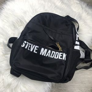 Steve Madden Logo Mini Backpack